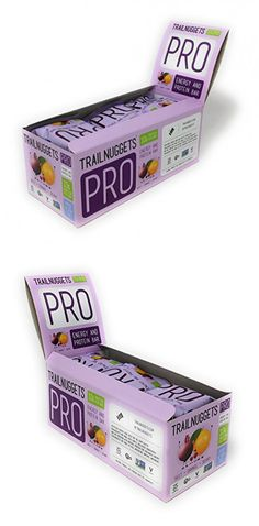 New Trailnuggets Pro Orange Cranberry Beet 12 Count Energy Protein Bar Protein Bars Energy Bars Vegan Bar