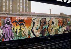 New York City Graffiti Trains
