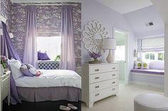 girls' rooms -lavender