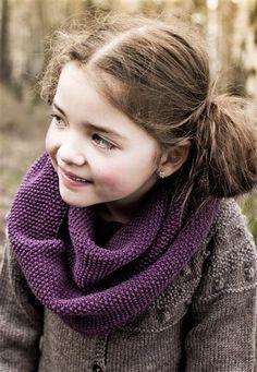 easy and cute cowl for girls Knitting Patterns, Crochet Patterns, Cowl, Knit Crochet, Kids, October, Barn, Fashion, Tejidos