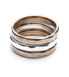 Drift Textured Rings : Minimal + Classic | Nordhaven Studio