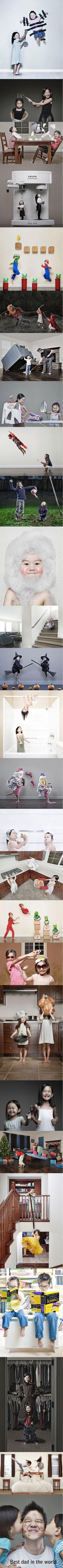 So cute! Als je zelf twee kinderen hebt ook lekker gekke foto's maken. Ze doen me denken aan mij en mijn zusje toen wij klein waren. Haha..