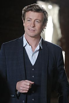 "Simon Baker in The Mentalist from ""Red is the New Black"""