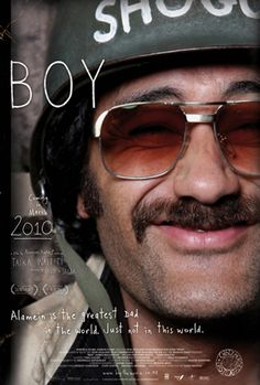 'Boy' (2010) - New Zealand movie. One of the most amazing best movies that will ever be and the rest of the world will never know about it. How sad.
