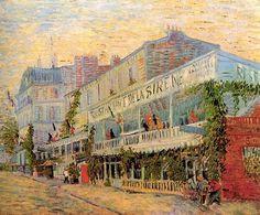 Restaurant de la sirene a Asnieres - Vincent van Gogh,1887.