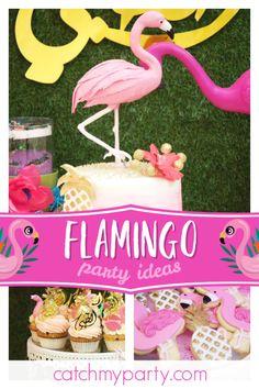 Flamingos Birthday Flamingo Bling