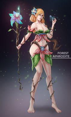 Forest aprhodite by RobCV.deviantart.com on @DeviantArt …