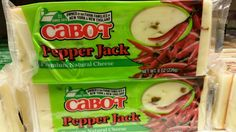 Cabot pepper jack cheese vegetarian and halal verified 02/15/2016