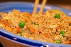 Egg Fried Rice with Ginger A simple and easy to make egg fried rice.