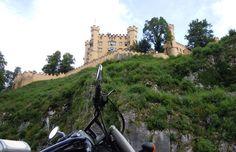I castelli di Re Ludwig II e la strada Romantica #intineraridascoprire #moto #viaggioinmoto #viaggidueruote