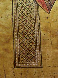 Icon Clothing, Visual Literacy, Byzantine Icons, Decorative Borders, Gold Ornaments, Dark Interiors, Art Icon, Orthodox Icons, Casket