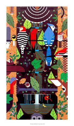 *Birducopia by Charley Harper!