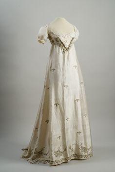 Dress, silk, Hungarian, 1810