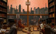 Isle of Dogs set design by Wes Anderson set Wes Anderson's set design for the Isle of Dogs goes on show in London La Famille Tenenbaum, Greta Gerwig, Wes Anderson Movies, Fantastic Mr Fox, Isle Of Dogs, Liev Schreiber, Grand Budapest Hotel, Moonrise Kingdom, Movie Shots