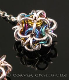 LOVE!!!! Japanese Ball, Corvus Chainmaille