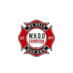 W.H.O.O. Foundation �20Firefighter/Police Charity Logo NEEDED!