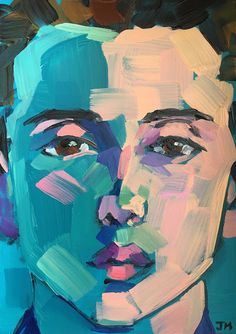 Jessica Miller Paintings: Half-Hour Portrait