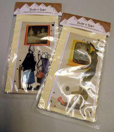 ...Weihnachtshilfe der Hannoverschen Allgemeinen Zeitung Hannover...  Hier gibts nun ein Komplettpaket von 2 Unikat - Kunst - Doppel - Karten (Mo...