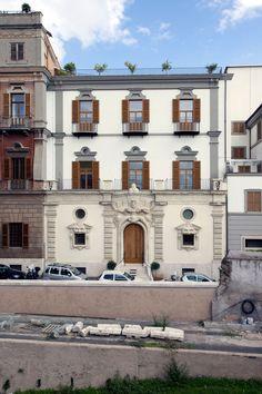 Navarro Baldeweg Asociados, Francesco Mattuzzi · Hertziana Library in Rome · Divisare