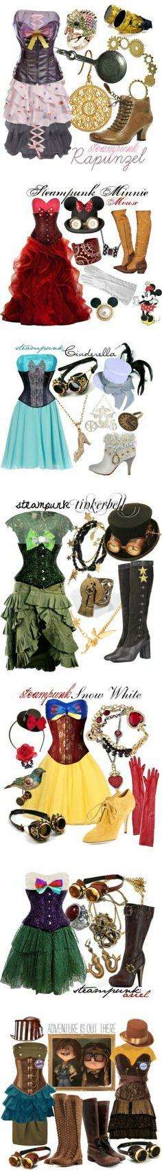 Disney princess Steampunk style