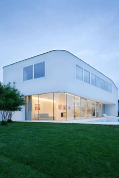 Sustainable Residence In Austria Designed in White: House L
