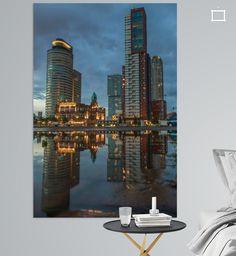 Kop van Zuid met Hotel New York Rotterdam