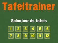 Speel het spelletje Tafeltrainer op Minipret.nl. Leuke spelletjes voor kinderen. Naast het spel Tafeltrainer hebben we nog veel meer kinderspelletjes.