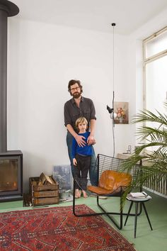 Interior photographer's house for Knack Weekend magazine | Frederik Vercruysse photographer