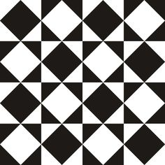 Pattern - by vertigogrphx Card Patterns, Tile Patterns, Pattern Art, Textures Patterns, Black And White Quilts, Black And White Painting, Geometric Designs, Geometric Shapes, Tessellation Patterns