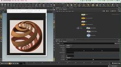 Basic Houdini tutorial creating the forms from an M.C. Escher woodcut, Sphere Spirals, from 1958.