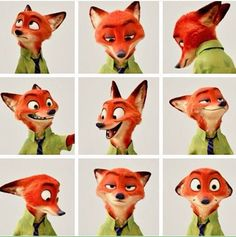 "I am Nick Wilde I live in Zootopia and best ""Cop"" friends with Judy hops, I might be a little sarcastic ;) But in the end I come thru as a great friend Disney Animation, Disney Pixar, Disney And Dreamworks, Disney Magic, Disney Art, Walt Disney, Disney Characters, Animation Movies, Kawaii 365"