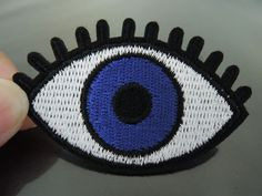 Iron on Patch - Big Eye Patch Blue Eye Patches Eyeball Iron on Applique Embroidered Patch Sew On Patch Size : about x Color: please see the photo Quantities : 1 pc 5 pcs or Conditions: New If you need more quantities, please contact me. Sew On Patches, Iron On Patches, Eye Patches, Seed Stitch, Iron On Applique, Pink Lips, Big Eyes, Free Crochet, Crochet Patterns