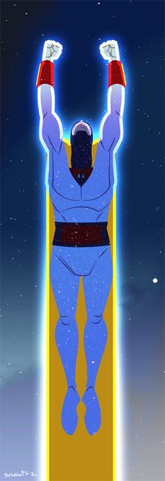 Space Ghost by ~msynowicz