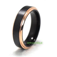 Unique Wedding Ring Promise Ring for Her Him by SIMPLEnUNIQUE