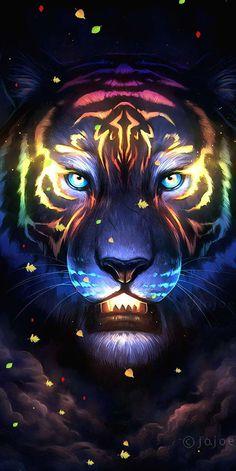 Neon Tiger iPhone Wallpaper Free – GetintoPik – Neon Tiger iPhone Wallpaper F… – animal wallpaper Tier Wallpaper, Wolf Wallpaper, Neon Wallpaper, Animal Wallpaper, Wallpaper Pictures, Tiger Images, Tiger Pictures, Big Cats Art, Cat Art