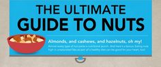 The ultimate guide to nuts (Infographic)