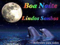 """Boa Noite. Visite nosso blog """"Reflexões Para Todos"""" e encontre lindas mensagens (clique na imagem)."""