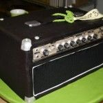 That is cool. An Amp Cake!