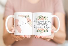 Best Friend Forever Never Apart Maybe In Distance But Never At Heart Mug