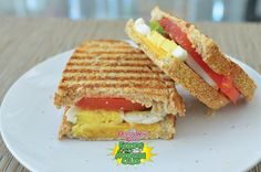 Whole wheat sandwich options include tomato, egg, cheddar cheese turkey apple and peanut butter OrganWise Guys healthy foods for kids. organwiseguys.com