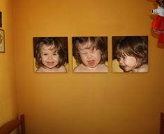 Leinwandbild-Arrangement - Ihr Foto Leinwanddruck auf mehreren Leinwänden
