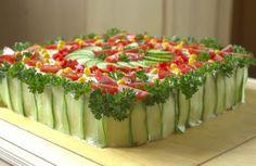 Tuna and egg sandwich cake by Liilia (recipe in Estonian)