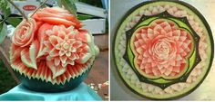 watermelon art..wow thats soooo artistic
