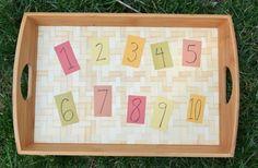 ¡Nuevo Post! Las primeras cantidades y sus grafías también se pueden aprender al aire libre con elementos naturales. ¿Te animas? http://blgs.co/eGCdz0