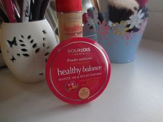 Suffer for makeup: BOURJOIS Healthy Balance Powder Review