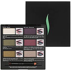 SEPHORA COLLECTION Pro Lesson Palette: Green Eyes - Pro Lesson Palette: Green Eyes  #sephora