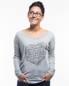 Wherever You Go Flowy Long Sleeve Tee – Sevenly