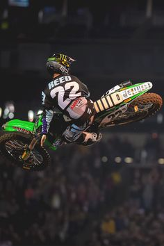 Chad Reed. -- My favorite Motorcross Rider...
