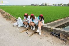 13 bin fotoğraf arasından seçildiler 2015 National Geographic Fotoğraf Yarışması'nda kazananlar... İnsan Kategorisi Onur Ödülü / Douliu, Tayvan