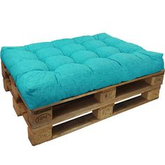 Picture 2 of 12 Pallet Bench Diy, Small Pallet, Pallet Patio, Pallet Sofa, Pallet Furniture, Outdoor Pallet, Pallet Couch Cushions, Euro Palette, Petite Palette